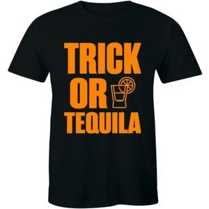 Trick Or Tequila Halloween Trick Or Treat T-shirt